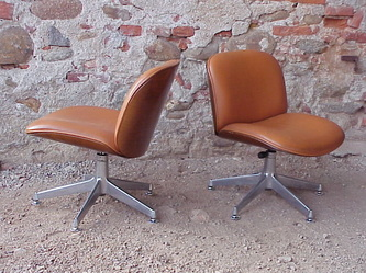 #mim italy prod ico #parisi design years 60 #armchairs wood and leather