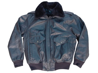 scott giubbotto jacket in pelle nera tg 46 leather
