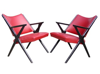 #armchairs #dalvera italy design years 50 in the manner ponti