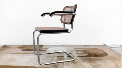 #Gavina chair #cesca by Marcel #Breuer design years '70 perfect condition A