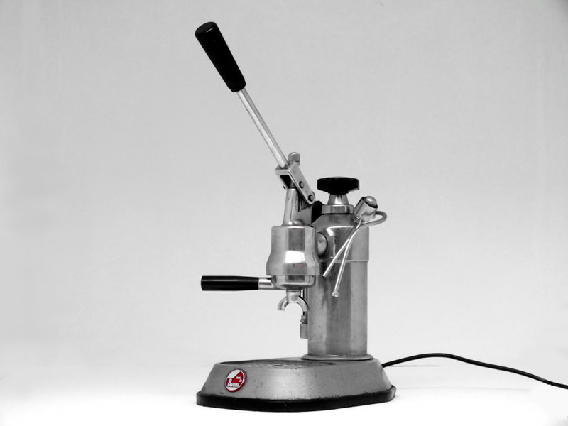 la pavoni europiccola coffee machine espresso years 60 design