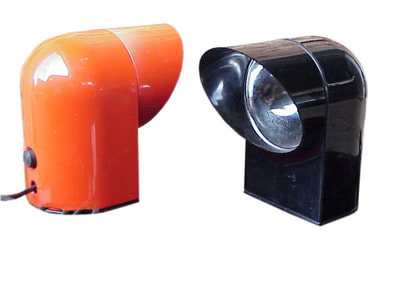 #Lumenform two desk or wall lamp #Oliver by Paolo #Piva design years '60