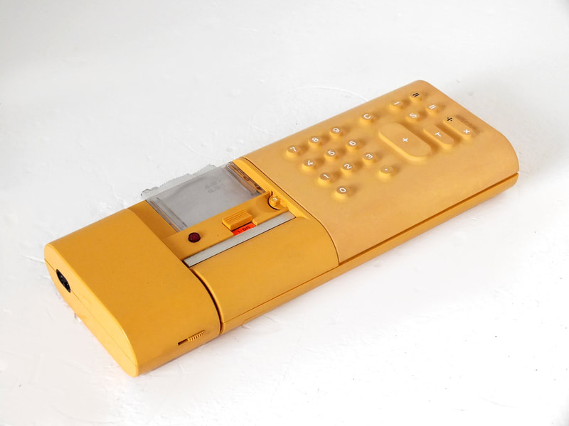 Olivetti divisumma 18 Mario Bellini design calculator years '70