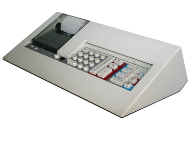 #Olivetti #Logos vintage calculator design by Mario #Bellini (era brionvega fontana)
