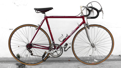 #Rossin Campagnolo #superrecord race Columbus bike years' 76 specialissima