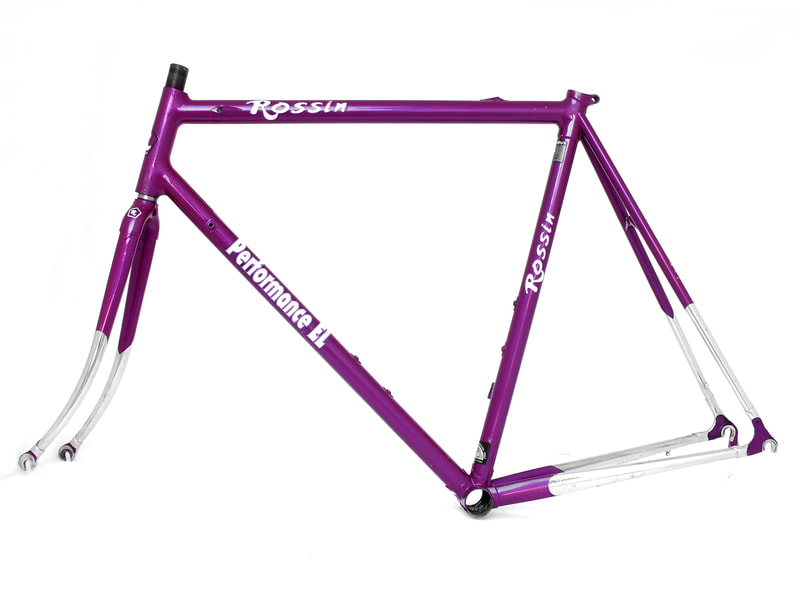 Rossin performance EL race frame Columbus EL extra light hand made Dupont system
